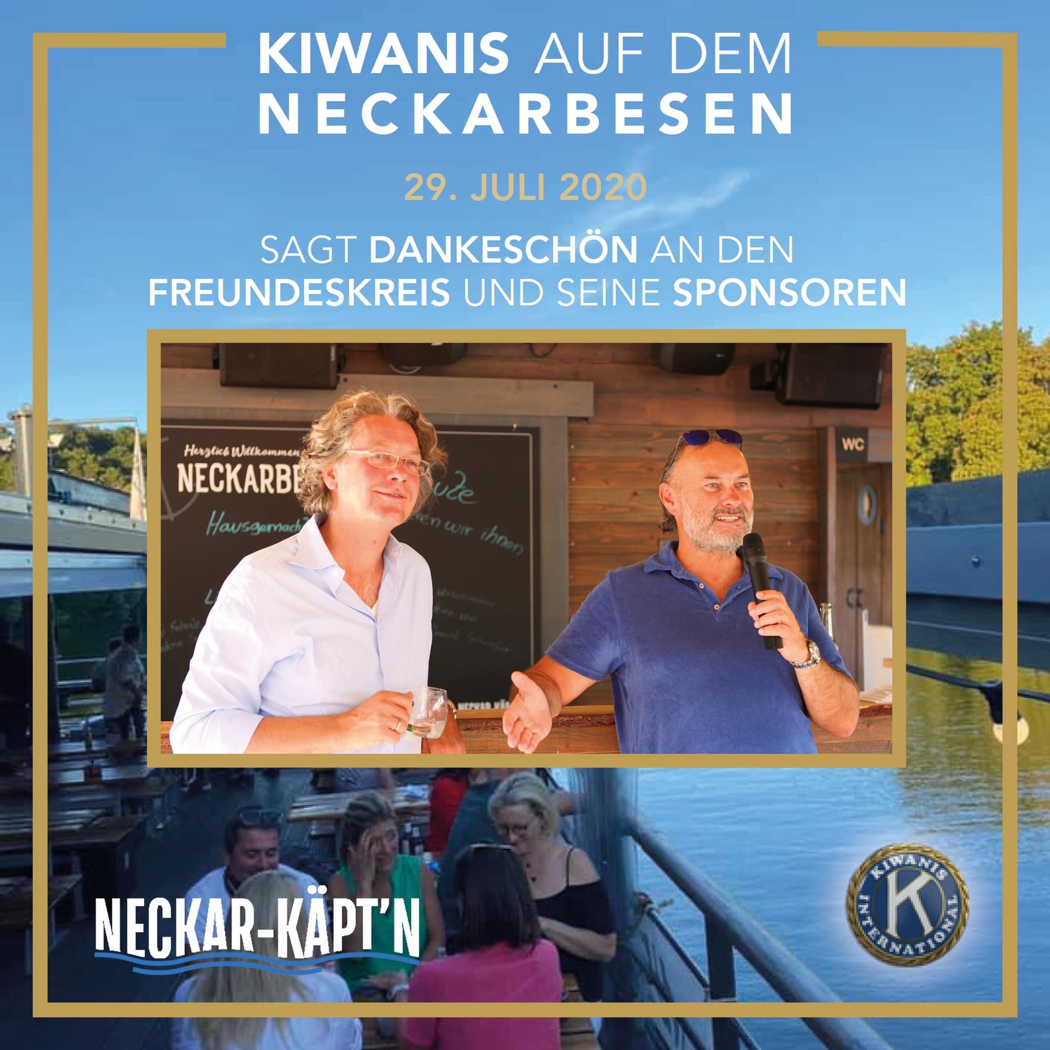 DER KIWANIS-CLUB-STUTTGART trifft endlich wieder seinen Freundeskreis! 